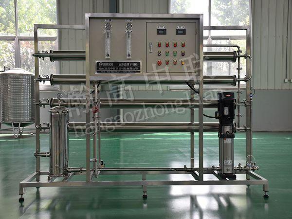 单级反渗透水处理设备 2T/H