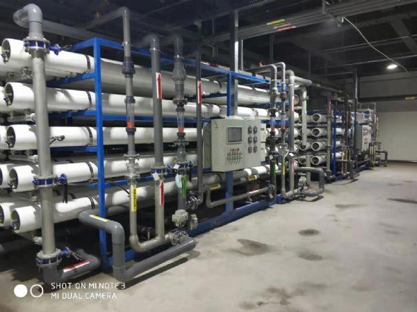 【瀚高中联】阿里云2*40T/H双级反渗透+浓水纳滤回收