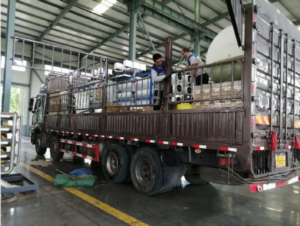 【瀚高中联】泰安30T单级设备发货现场